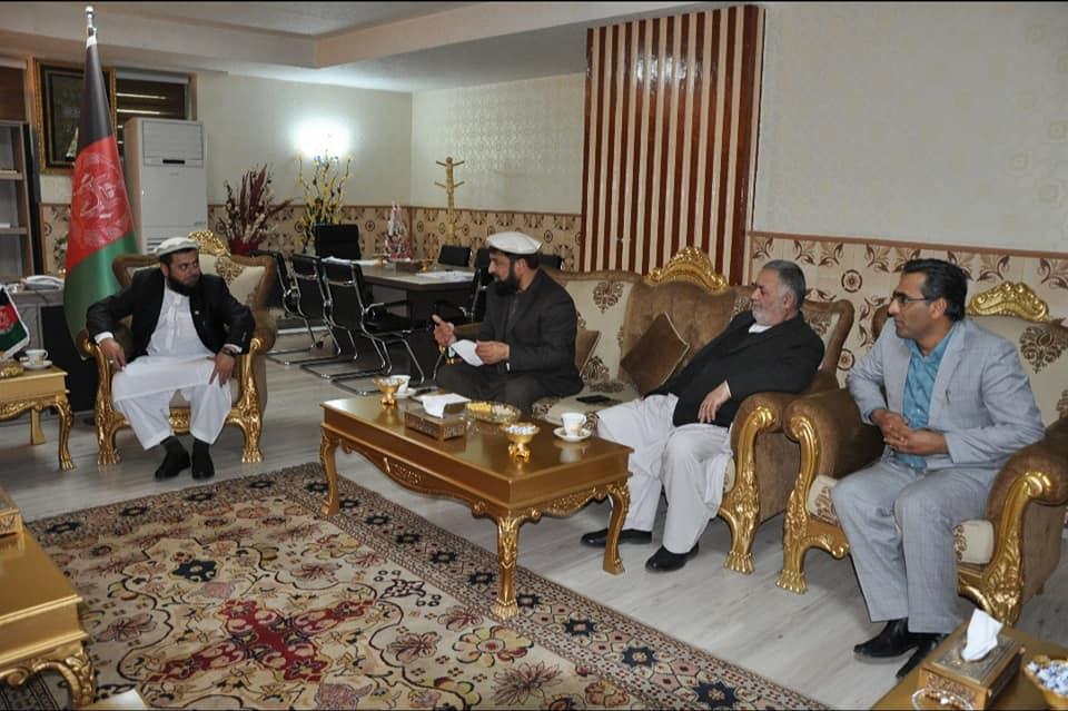 ملاقات با سفیر عربستان سعودی در کابل