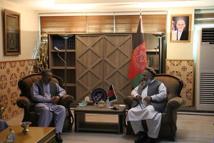 ملاقات سرپرست وزیر ارشاد حج واوقاف با مشور رئیس جمهور در امور اجتماعی و مسئولین اطاق های تجارت