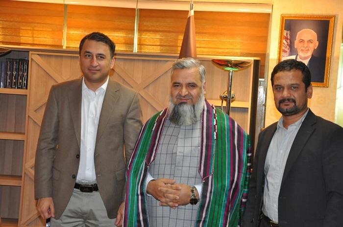 دیدار سرپرست وزارت ارشاد، حج واوقاف با رئیس عمومی امنیت ملی جمهوری اسلامی افغانستان.