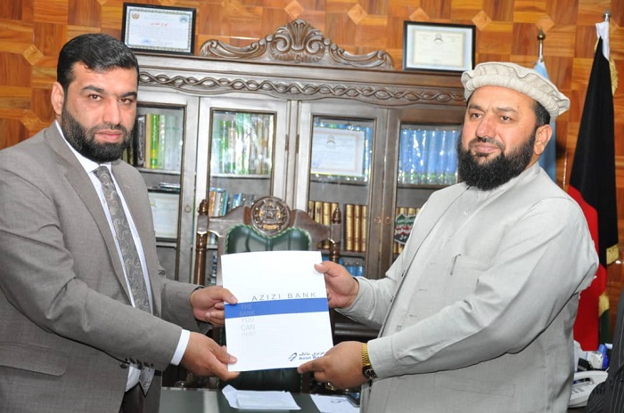 تفاهمنامه همکاری میان وزارت ارشاد، حج واوقاف و عزیزی بانک به امضاء رسید