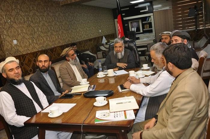 ملاقات سرپرست وزارت ارشاد، حج و اوقاف با سفیر افغانستان در کشور عربستان سعودی از طریق ویدیو کنفرانس