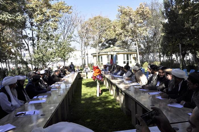 تدویر جلسه رؤسای ولایات با سرپرست وزارت ارشاد، حج و اوقاف