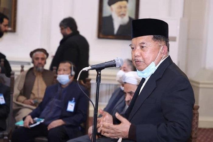 نشست مشترک هیئت رهبری وزارت، شورای سرتاسری علماء و علمای مطرح کشور با رئیس سازمان علمای محمدیه کشور اندونیزیا و هیات همراهش