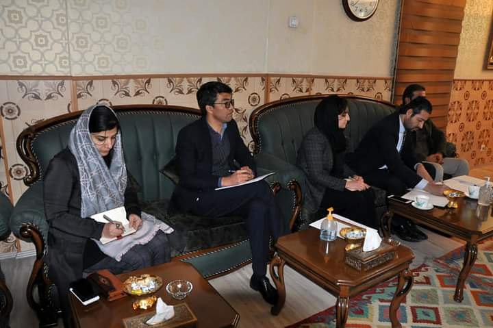 جلسه هماهنگی وزارت ارشاد، حج و اوقاف با ریاست انسجام امور کابینه، اداره امور ریاست جمهوری