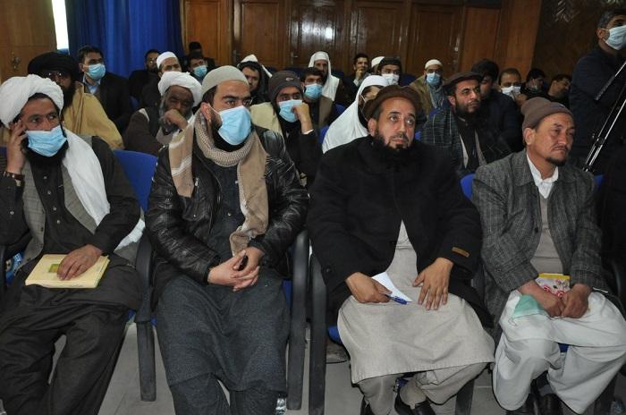 فراغت علمای کرام از نخستین دور برنامه ارتقای ظرفیت ائمه و خطباء افغانستان