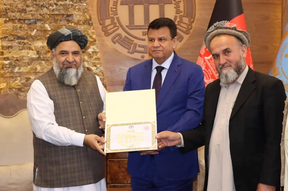 The Minister of Mohia is Honored by Parliament