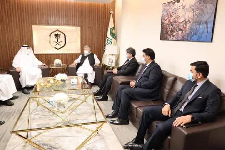 ملاقات وزیر ارشاد، حج و اوقاف جمهوری اسلامی افغانستان با رئیس عمومی اوقاف عربستان سعودی