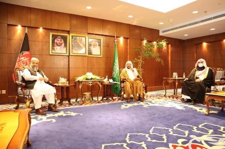 ملاقات وزیر ارشاد حج و اوقاف با وزیر شوون اسلامی عربستان سعودی