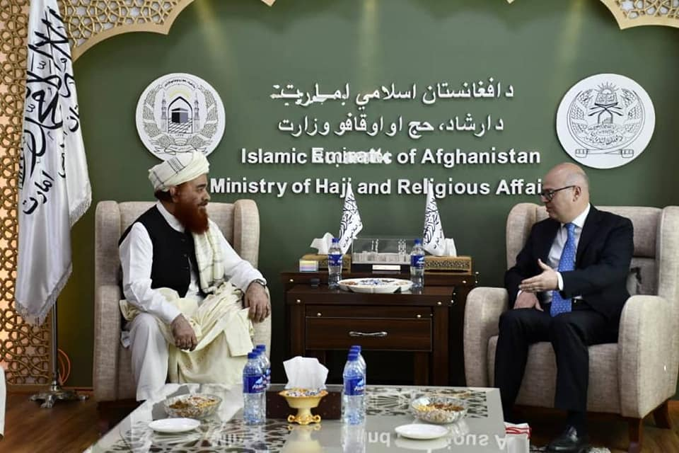 ملاقات وزیر ارشاد حج و اوقاف با سفیر ترکیه مقیم کابل